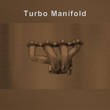 turbo manifold by Fanatic Racing Parts